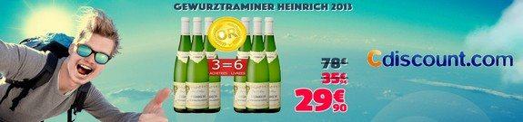 vente privee gewurztraminer heinrich 2013 cdiscount