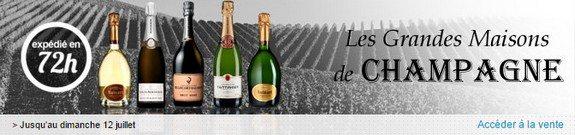 vente privee grandes maisons de champagne