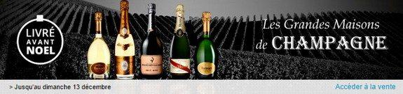 vente privee grandes marques de champagnes