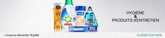 vente privee hygiene produits entretien