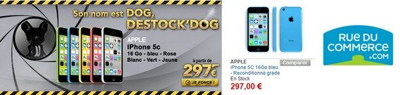vente privee iphone 5 reconditionnes rue du commerce