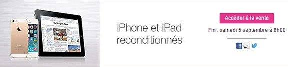 vente privee iphone ipad reconditionnes