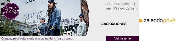 vente privee jack and jones homme zalando