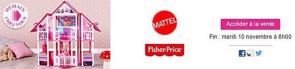 vente privee jouets mattel fisher price