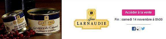vente privee larnaudie conserves et bocaux