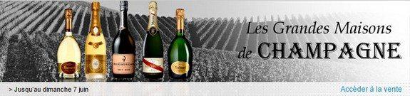 vente privee les grandes maisons de champagne