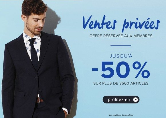 Vente Privée Menlook