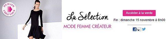 vente privee mode femme createur showrommprive