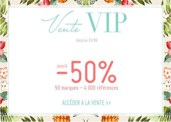 Vente VIP MonShowroom