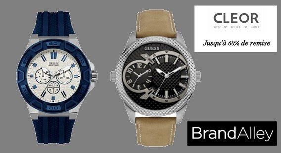 vente privee montres guess brandalley