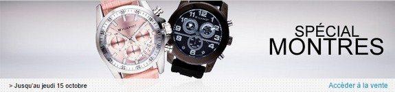 vente privee montres homme femme octobre 2015