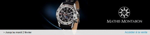 vente privee montres mathis montabon 2016