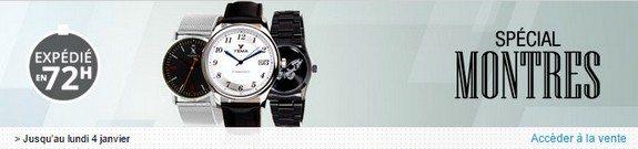 vente privee montres pour hommes