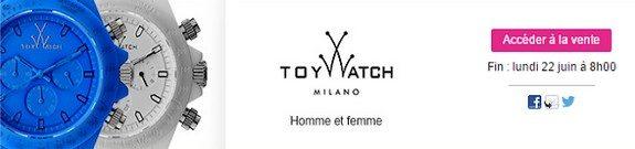 vente privee montres toywatch