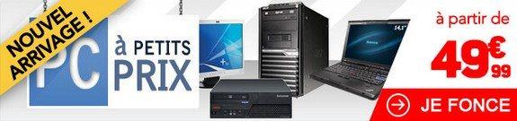 vente privee ordinateurs pc a petits prix rue du commerce