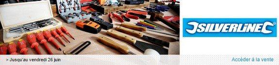 vente privee outils silverline