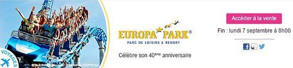 vente privee parc d attraction europa park