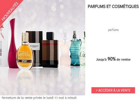 Vente Privée de Parfums et Cosmétiques