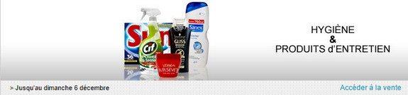 vente privee produits hygiene et d entretien