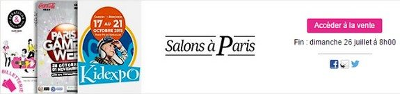 vente privee salons a paris