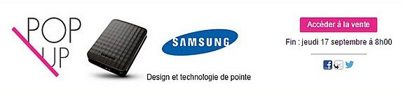 vente privee samsung design et technologie de pointe