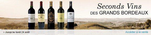 vente privee seconds vins des grands bordeaux