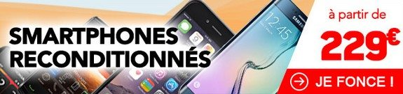 vente privee smartphones reconditionnes