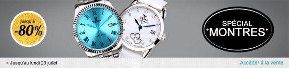 vente privee speciale montres homme femme