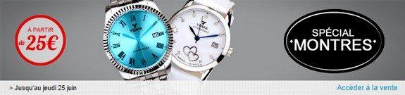 vente privee speciale montres