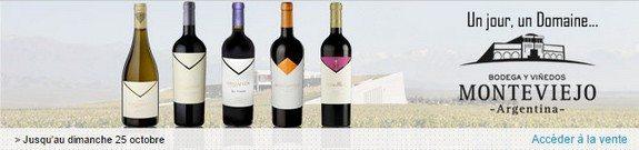 vente privee vin argentin monteviejo