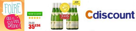vente privee vin blanc gewurztraminer heinrich 2013 cdiscount