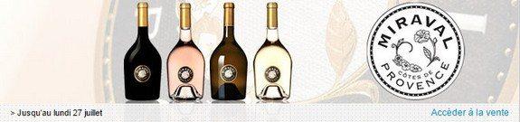 vente privee vin miraval cotes de provence