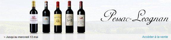 vente privee vin rouge pessac leognan