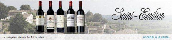 vente privee vin saint emilion