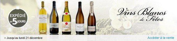 vente privee vins blancs de fetes