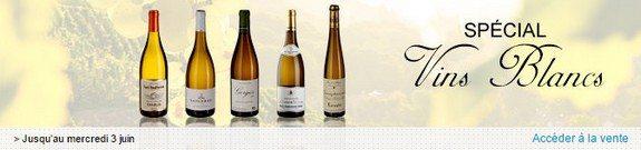 vente privee vins blancs