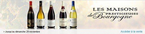 vente privee vins de bourgogne
