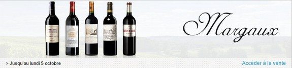 vente privee vins de margaux