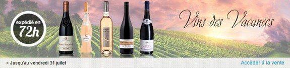vente privee vins des vacances