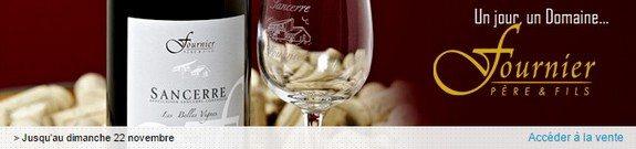 vente privee vins domaine de fournier pere et fils