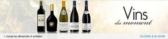vente privee vins du moment octobre 2015