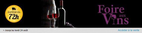 vente privee vins foire aux vins