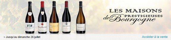 vente privee vins maisons prestigieuses de bourgogne