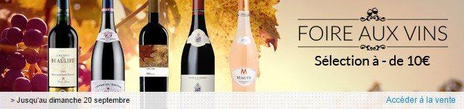 vente privee vins pas chers moins de 10 euros