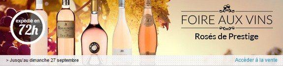 vente privee vins roses de prestige septembre 2015