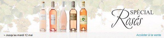 vente privee vins roses