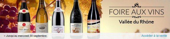 vente privee vins vallee du rhone