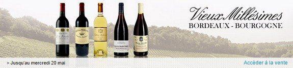 vente privee vins vieux millesimes bordeaux bourgogne