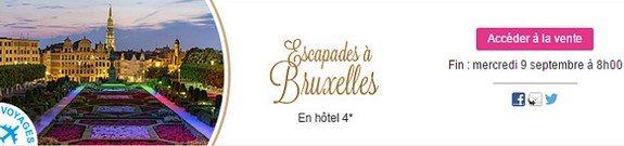 vente privee voyage belgique bruxelles