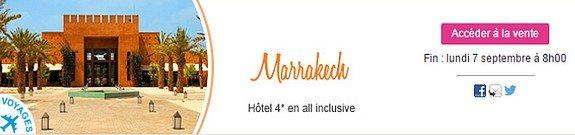 vente privee voyage maroc marrakech